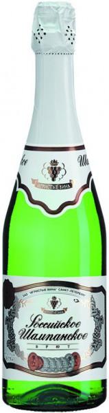 """Игристое вино """"Rossiyskoe Champagne"""" Brut"""