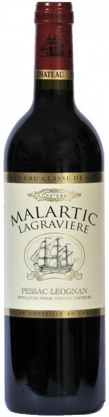 "Вино ""Chateau Malartic Lagraviere"" Red, Pessac Leognan Grand Cru Classe de Graves, 2011"