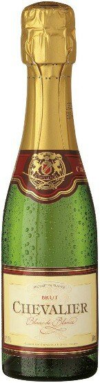 "Игристое вино Boisset, ""Chevalier"" Blanc de Blancs Brut, 0.2 л"
