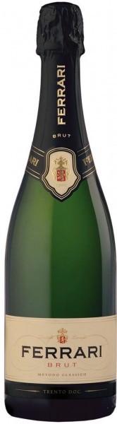 Игристое вино Ferrari Brut, Trento DOC