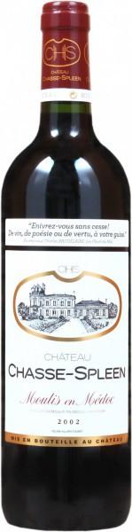 Вино Chateau Chasse-Spleen, Moulis-en-Medoc AOC Cru Bourgeois, 2002