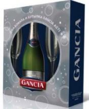 Игристое вино Gancia Asti DOCG, with 2-glasses gift box