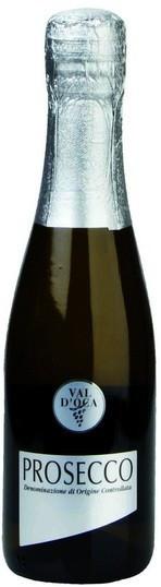 """Игристое вино Val d'Oca, """"Argento"""" Prosecco DOC Extra Dry, 0.2 л"""
