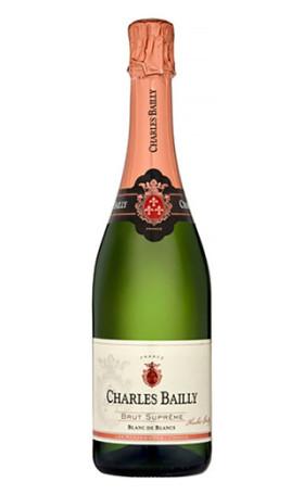 Игристое вино Charles Bailly Brut Supreme Blanc de Blancs 0.75л