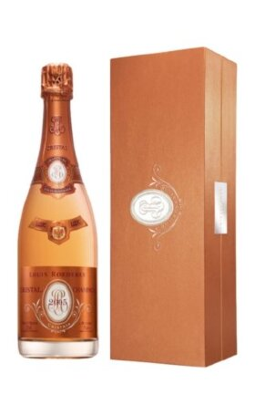 Шампанское Louis Roederer Cristal Rose 2008 gift box 0.75л