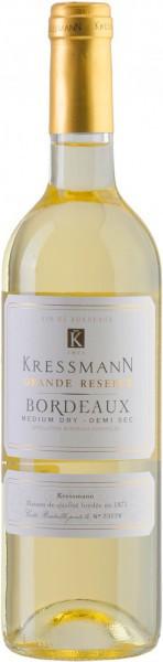 "Вино Kressmann, ""Grande Reserve"" Bordeaux AOC Demi-sec, 2013"