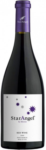 "Вино Montes, ""Star Angel"" Syrah, 2008"