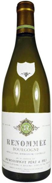 """Вино Remoissenet Pere & Fils, """"Renommee"""" Bourgogne AOC Blanc, 2007"""