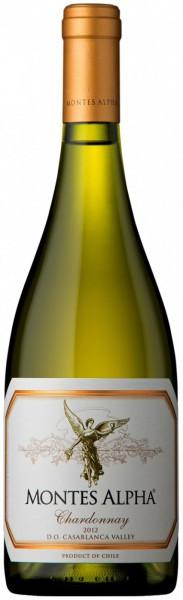 "Вино Montes, ""Alpha"" Chardonnay, 2012"