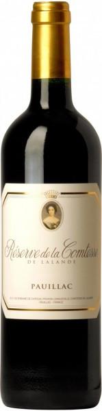 Вино Reserve de la Comtesse Lalande, Pauillac AOC, 2003