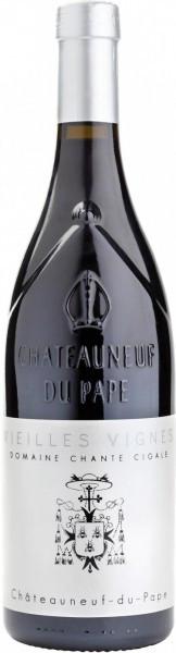 """Вино Domaine Chante Cigale, Chateauneuf-du-Pape """"Vieilles Vignes"""", 2010, 1.5 л"""