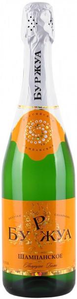 "Игристое вино ""Bourgeois"" Blanc semisecco"