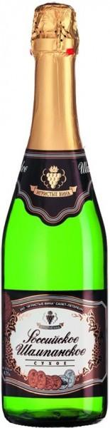 "Игристое вино ""Rossiyskoe Champagne"" Dry"