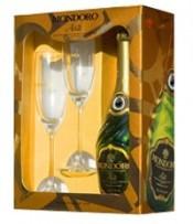 """Игристое вино Asti """"Mondoro"""", 2 glasses pack"""