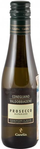 Игристое вино Canella Prosecco Superiore DOCG, 0.2 л