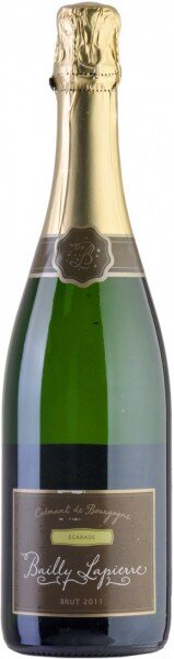 "Игристое вино Cave de Bailly, Bailly-Lapierre ""Egarade"" Brut, Cremant De Bourgogne AOC, 2011"
