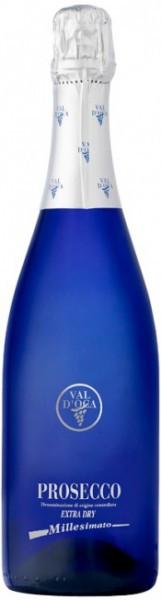 """Игристое вино Val d'Oca, """"Blu"""", Prosecco DOC Millesimato Extra Dry"""